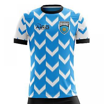 2018-2019 Uruguay maillot de foot Home Concept (Kids)