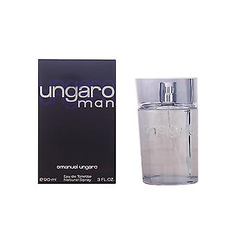 Emanuel Ungaro Man Eau De Toilette Vapo 90ml New Fragrance Scent Perfume For Him