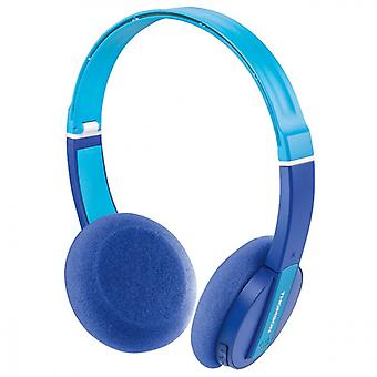 THOMSON WHP6017P Headphones Bluetooth Wireless On-Ear Baby Blue