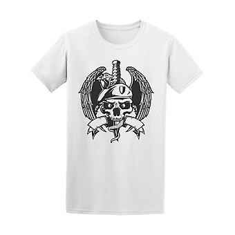 Military Skull With Eagle Tee Men's -Image by Shutterstock