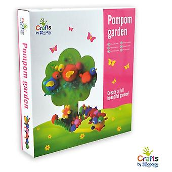 Crafts by Andreu Toys Pompom Garden (Babies and Children , Toys , Educative And Creative)