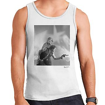 Star Wars Behind The Scenes Chewbacca And Han Solo White Men's Vest