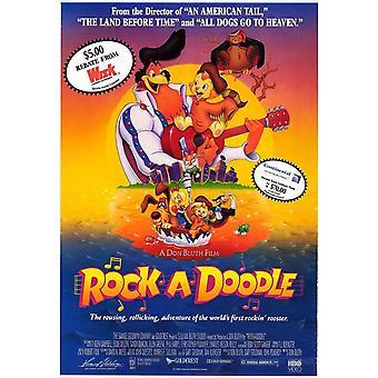 Roccia-un-Doodle film Poster (11x17)