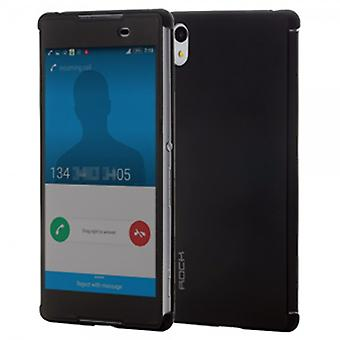 ROCK shadow smart cover black for Sony Xperia Z3 plus E6553 and dual