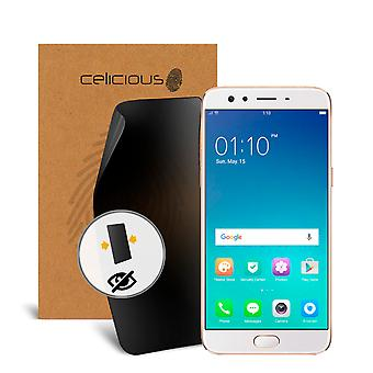 Celicious Privacy 2-Way Visual Black Out Screen Protector for OPPO F3 Plus