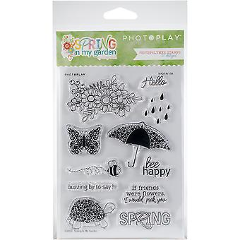 Photoplay Photopolymer Stamp-Spring In My Garden
