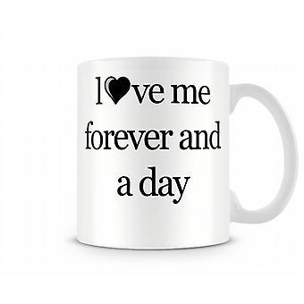Love Me Forever bedrukte mok
