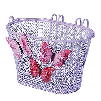 Albahaca jazmín mariposa rueda delantera niños cesta
