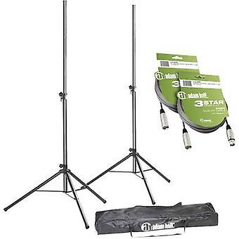 PA-Lautsprecher-Ständer-set Teleskop, höhenverstellbare SPS023SET3 1 PC