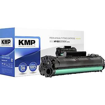 KMP Toner cartridge replaced HP 83X, CF283X Black 2300 pages H-T194
