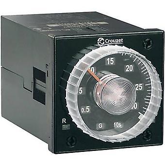 Crouzet TIMER TMR 48U TDR multifunción 1 PC ATT. FX. RANGO de tiempo: 0.02 s - 300 h 2 cambios de presentación