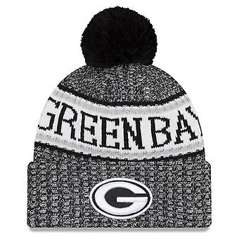 Ny æra NFL negligere 2018 Bobble Hat Green Bay Packers
