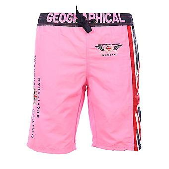 Swim shorts Pink Quol Geographical Norway Man