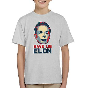 Save Us Elon Kid's T-Shirt
