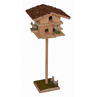 Pigeons beat pigeon-House with 7 pigeons for Nativity scene Christmas crib crib accessories