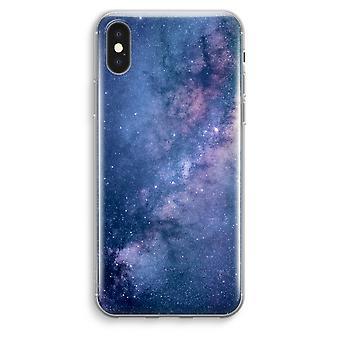 iPhone XS Max Transparent Case (Soft) - Nebula