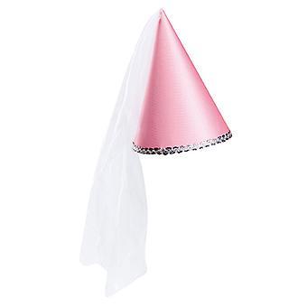 Sugarloaf Hat height 22 cm pink