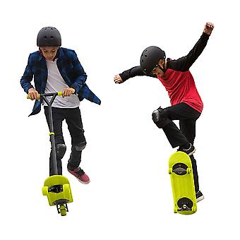 Morfboard Skate & Scoot Combo Set, Chartreuse/Black Colour