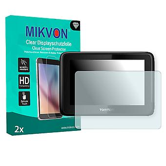 TomTom PRO 7100 Screen Protector - Mikvon Clear (Retail Package with accessories)