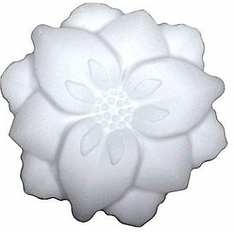 135mm Polystyrene Pretty Open Flower Shape | Styrofoam Shapes for Crafts