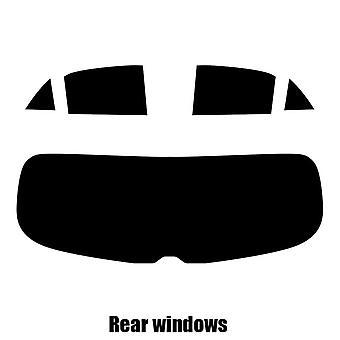 Pre gesneden venster tint - Kia Rio 5-deurs Hatchback - 2017 en nieuwer - achterzijde windows