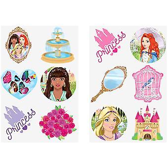 Princesses Tattoos Tattoos 24pcs