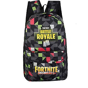 Fortnite backpack with geometric pattern
