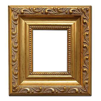 3 1/8 2 3/4 x 7 x 8 cm oder Zoll, Bilderrahmen in gold