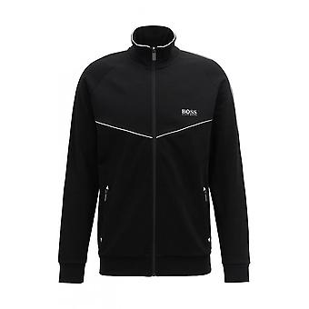 Hugo Boss Leisure Wear Hugo Boss Men's Black And White Zipped Tracksuit