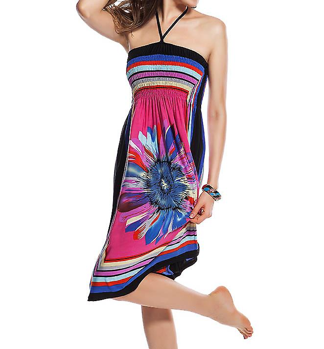Waooh - Fashion - Dress printed beach flower