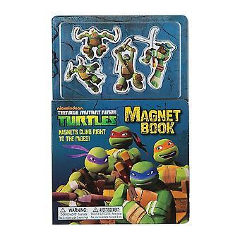 Las Tortugas Ninja siglo libro imán