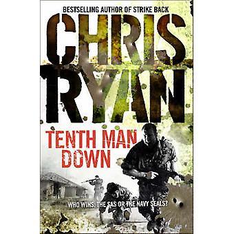 Zehnte Mann unten von Chris Ryan - 9780099460121 Buch