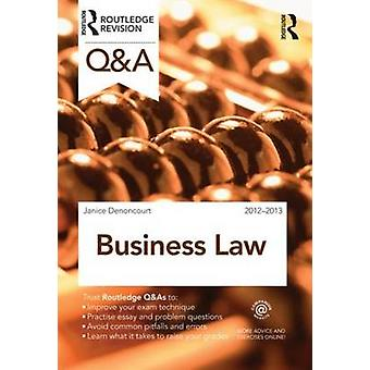 Q&A Business Law (2nd Revised edition) by Janice Denoncourt - 9780415