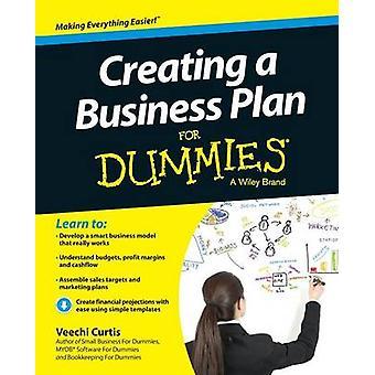 Création d'un Plan d'affaires pour les nuls par Veechi Curtis - 9781118641224