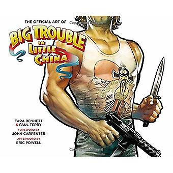 The Official Art of Big Trouble in Little China by Drew Struzan - Jay