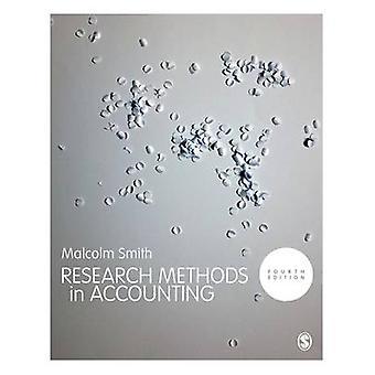 Métodos de investigación en contabilidad por Malcolm Smith - libro 9781526401076