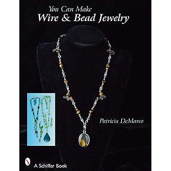 Można zrobić drutu i koralik Biżuteria