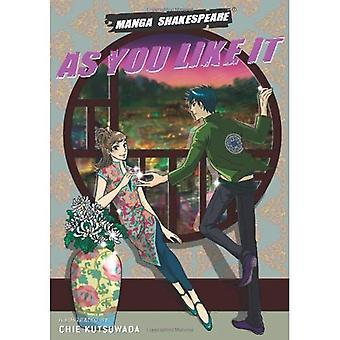 As You Like It (Manga Shakespeare)