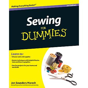 Sewing For Dummies by Saunders Maresh Jan