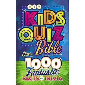 NIV barnens frågesport Bibeln, inbunden: Över 1.000 fantastiska fakta och kuriosa
