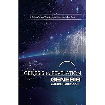 Genèse à l'Apocalypse: les participants livre Genèse: une Exploration complète de verset par verset de la Bible