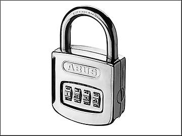 ABUS 160/50 50mm Combination Padlock ( 4 Digit) Steel Case Die Cast Body