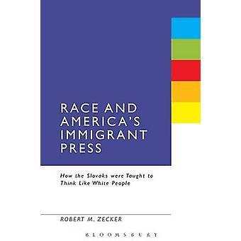Ras och Americas invandrare tryck av Zecker & Robert M.
