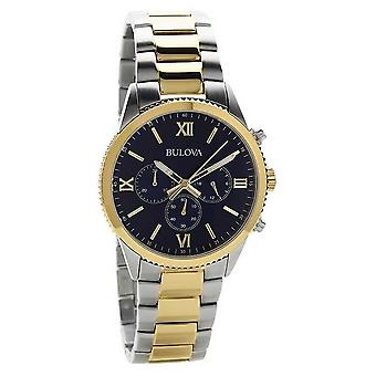 Bulova Women's Two Tone Chronograph 98A220 Watch