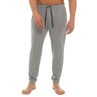 Socken Sachen Mens Marl Jersey Pyjama Hose Loungewear