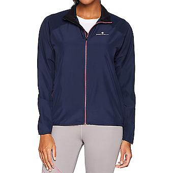 Ron Hill Womens Everyday Reflective Breathable Running Coat