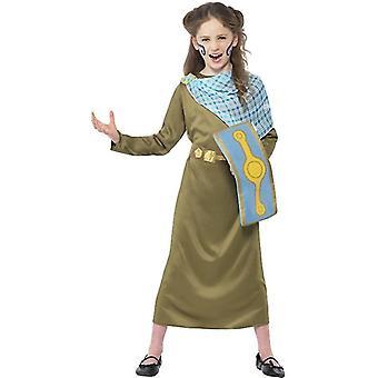 Köigin mens Director Boudica child costume