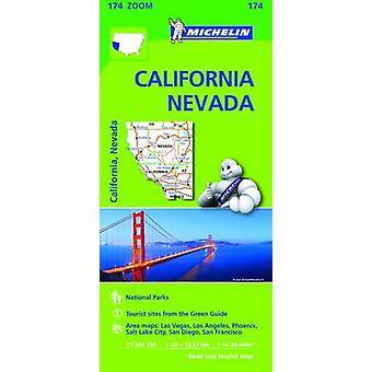California Nevada Zoom Map 174 - 9782067190511 Book