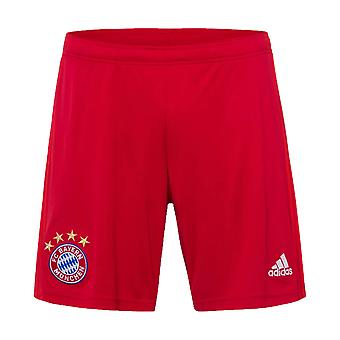2019-2020 Bayern Munich Adidas Home Shorts (Red)