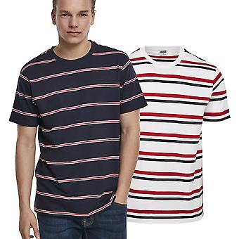 Urban Classics-Yarn Dyed Skate Stripe Shirt